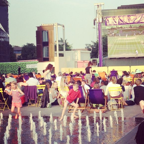 Kings Cross, Tennis and Pimms